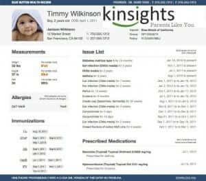 Kinsights-Child-Records