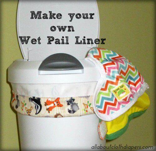 Cloth Diaper Wet pail liner