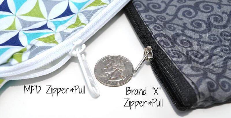 Monkey Foot Design Zipper