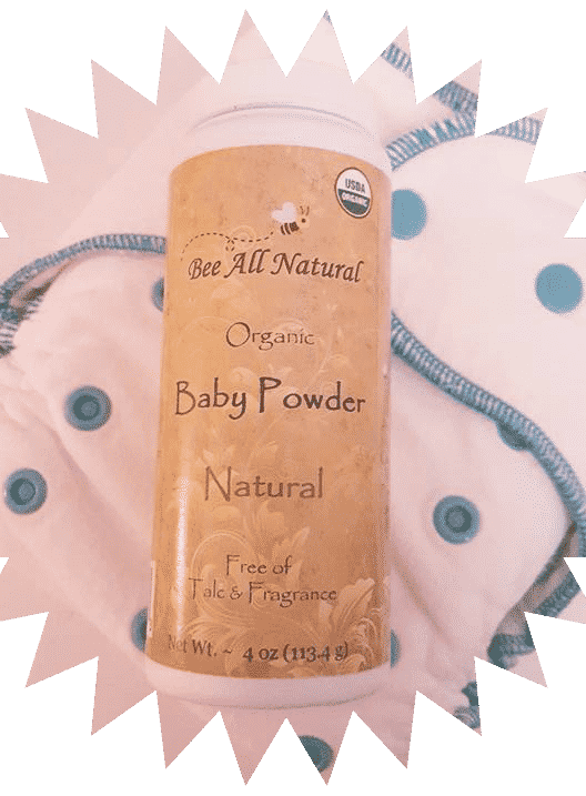 Bee All Natural Baby Powder