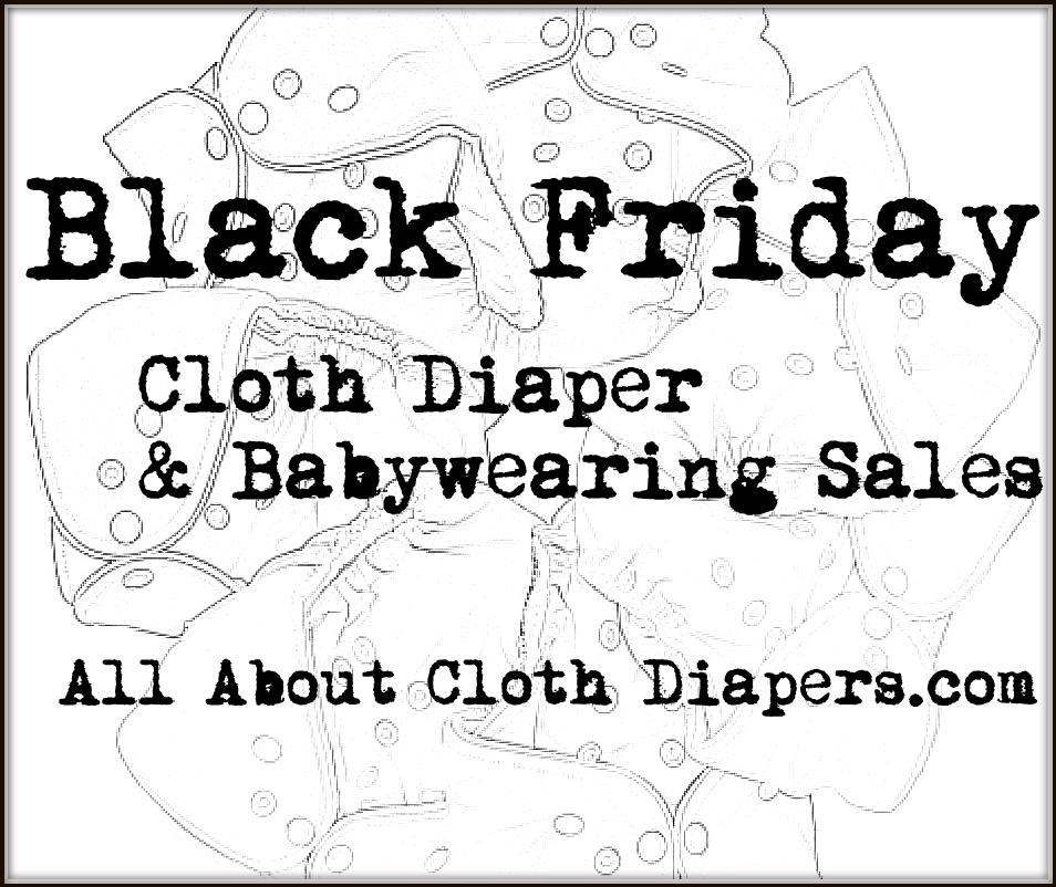 Black Friday Cloth Diaper Sales