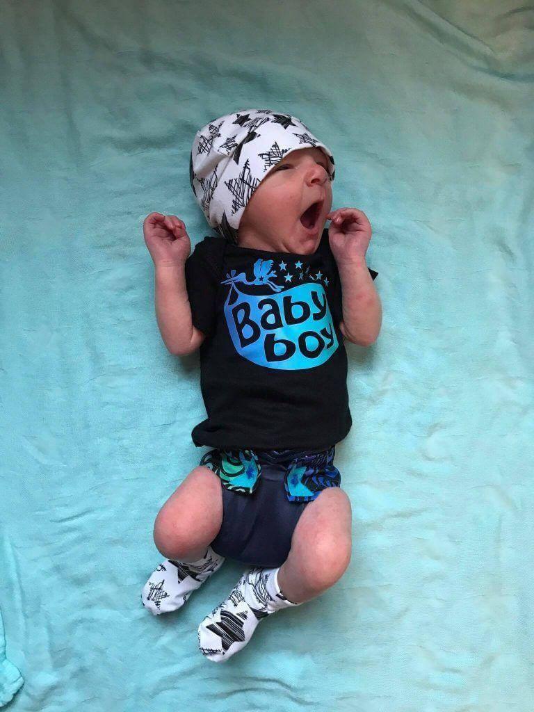 RagaBabe Gender Reveal Diaper