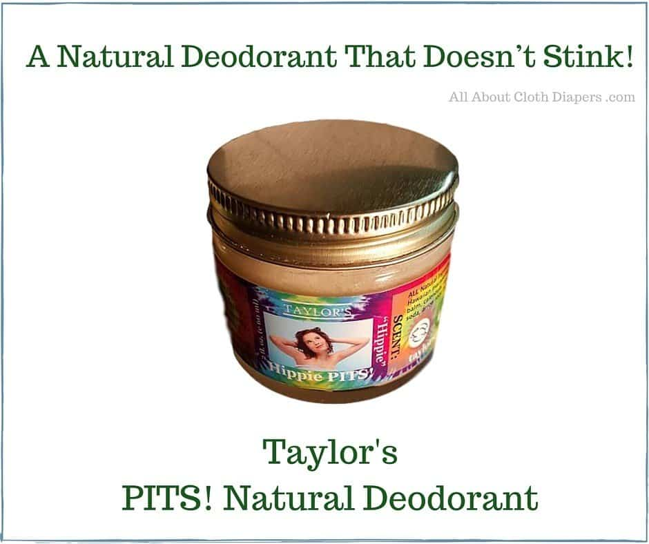 Taylor's PITS! Natural Deodorant