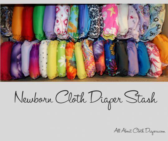newborn-cloth-diaper-stash
