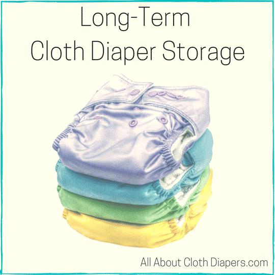 Long Term Cloth Diaper Storage