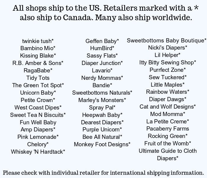 Big Book of Cloth Diapers Retailers