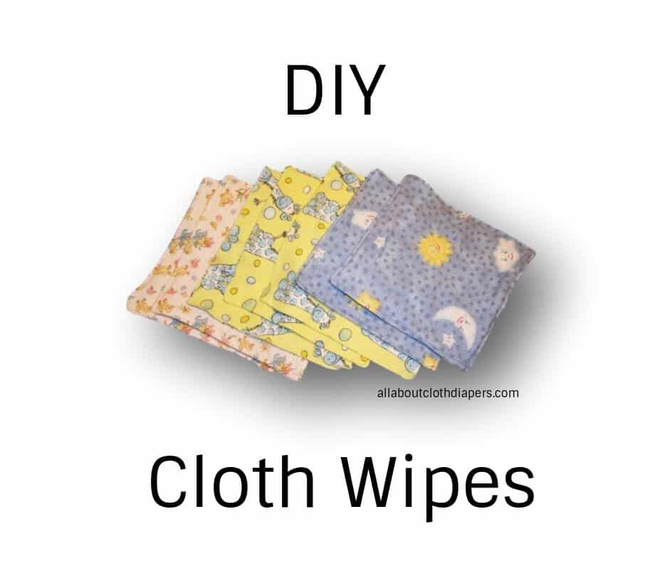 Make your own cloth wipes