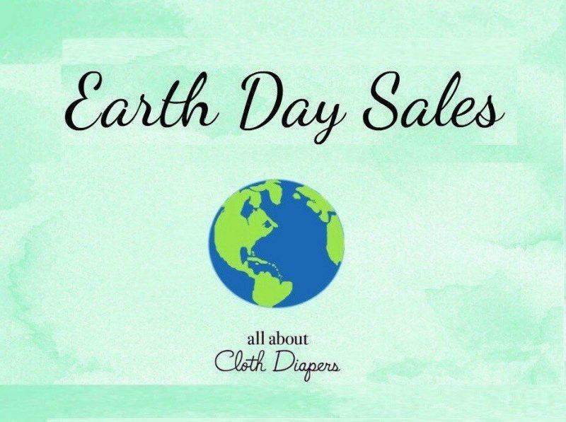 Earth Day Cloth Diaper Sales 2020