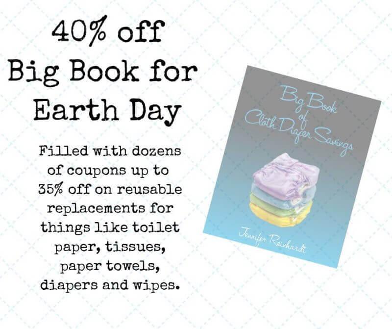 Earth Day cloth diaper sales