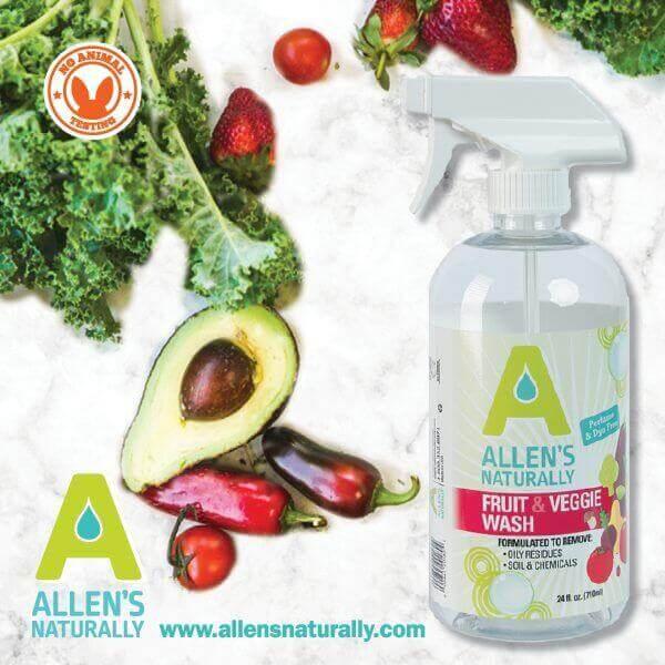 Allen's Naturally Fruit and Veggie Wash