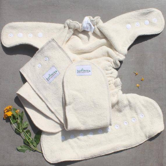 Budget friendly fitted cloth diaper