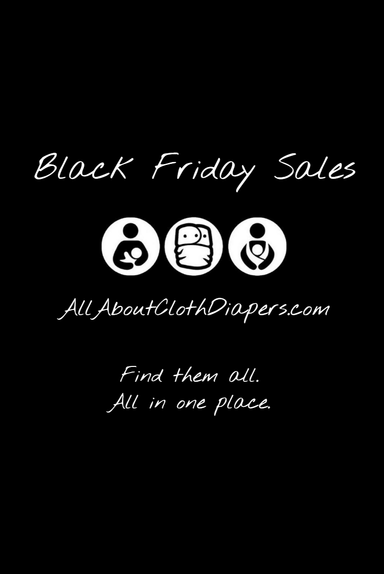 Black Friday Cloth Diaper Sales (all the sales) ... 2020 edition