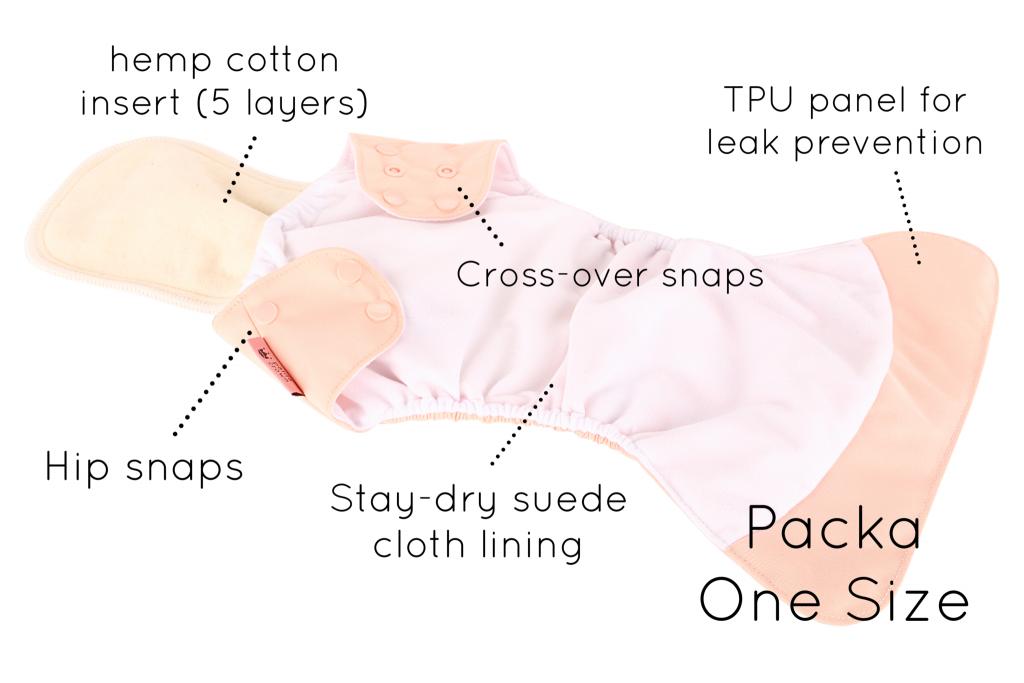 Petite Crown Pocket Diaper